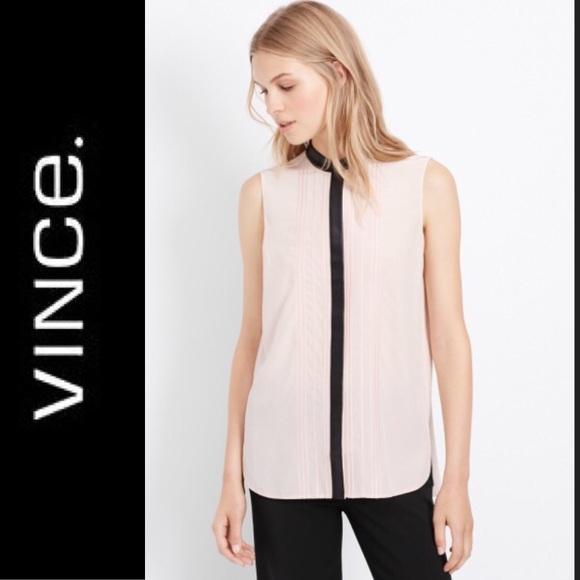 642f52bbf Vince light pink silk button up blouse. M_5a5bdcd8b7f72b94324ed9a2